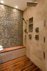 Zen Bathroom Ideas by Diy Wood Shower Floor Showers Decoration