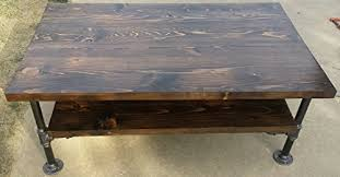 Pipe Coffee Table by Industrial Pipe Coffee Table Ancon Edition Shelves Lowes