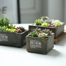 plante verte bureau bureau mini pots de fleurs en céramique pastorale poterie fleur