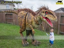 velociraptor costume realistic dinosaur costume catalogue onlydinosaurs