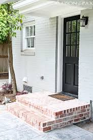 Back Porch Stairs Design Best 25 Brick Steps Ideas On Pinterest Front Porch Steps Front