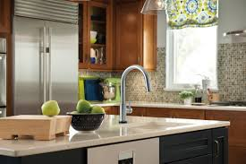 delta trinsic kitchen single handle pull down standard kitchen