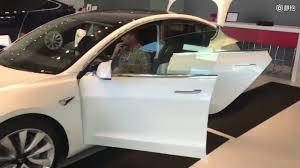 vw diesels subaru u0027s sporty concept tesla model 3 interior
