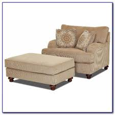Oversized Armchair With Ottoman Oversized Chair With Storage Ottoman Chairs Home Decorating
