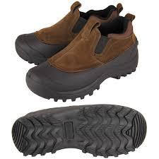 men s wide slip on winter boots santa barbara institute for