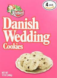 wedding cookies keebler wedding cookies 12 ounce boxes pack of 4