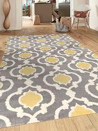 7 x 10 area rug amazon com rugshop moroccan trellis contemporary gray yellow 7 u002710