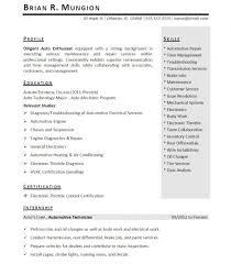 Engineering Intern Resume Example Internship Resume Internship Resume Sample 4 Resume
