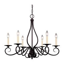 Commercial Electric Chandelier Illumine English Bronze Finish Multi Light Interior Chandelier Cli