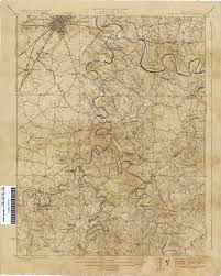 Ky Map Kentucky Historical Topographic Maps Perry Castañeda Map
