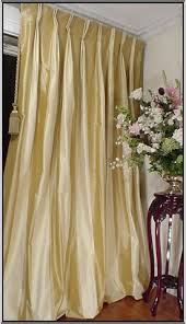 sumptuoussilk com gold and ivory striped silk drapery