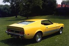 ford mustang mach 2 for sale 1973 ford mustang mach 1 yellow