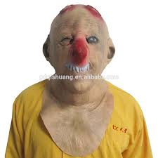 halloween dog mask halloween creepy dog full head mask made up party cosplay clown