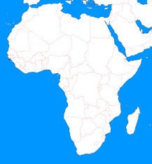 Africa Map Rivers Blank Map Directory Blank Map Directory Africa Alternatehistory