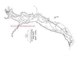 Yale Map Yalelake Information Northwest Fishing Reports