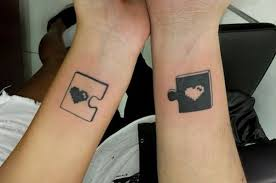50 cute matching couple tattoo ideas