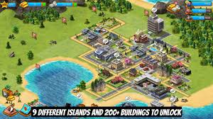 paradise city island sim resort tycoon game android apps on