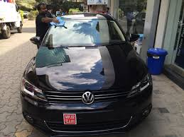 volkswagen gli 2016 white back in black a vw jetta highline dsg comes home team bhp