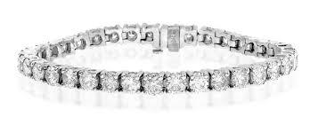 white diamond tennis bracelet images Diamond tennis bracelet 9 00ct 18k white gold item j3339 jpg