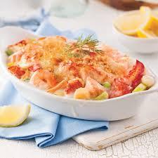 gratin de fruits de mer recettes cuisine et nutrition pratico