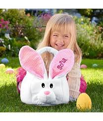 personalized easter bunnies adorable baby toddler easter baskets