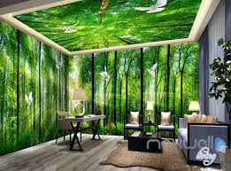 wallpaper for entire wall 3d sunrise forest deer entire living room bedroom wallpaper wall