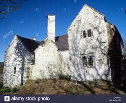 Historic Tudor House Plans Listed Tudor House Medieval Building Canterbury Stock Photo