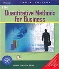 quantitative methods for business with cd 10th edition buy