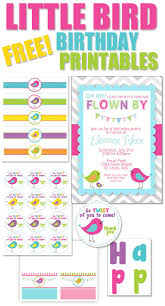 bird themed birthday party with free printables how to nest for