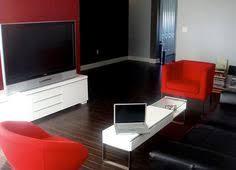 Redblackandwhitelivingroomamazingideasonhome - Black living room decor