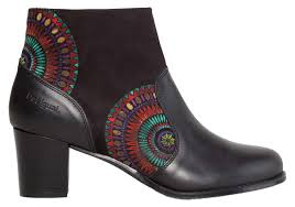 s shoes boots uk desigual valquira cris boots and booties black s shoes