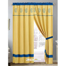 Yellow And Blue Curtains Hg Station Drapes Curtains With Free Shipping Kmart