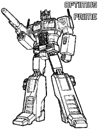 transformer coloring pages bestofcoloring com