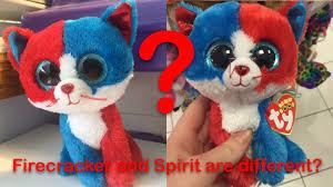 beanie boo spirit firecracker