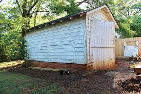 pretty shed before after shabby shed turned pretty screened porch city