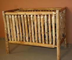 wooden cribs for babies handmade rustic style solid wood crib dark