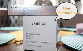 laneige bb cushion light medium first impression laneige bb cushion cushion concealer youtube