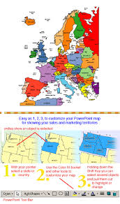 europe map by country europe regional powerpoint map countries names maps for design