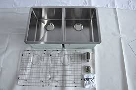 30 inch undermount double kitchen sink krizto 30 inch undermount double bowl 50 50 16 gauge stainless
