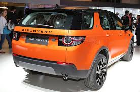 discovery land rover back jaguar land rover show f type manual and awd discovery sport at l a
