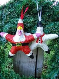 bahahaha holidays starfish and ornament