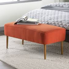 jenna upholstered bench u0026 reviews joss u0026 main