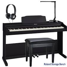 roland rp 102 home style digital piano black 88 key weighted with