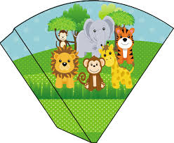 safari binoculars clipart safari cone para guloseimas pequeno 11x 9 cm jpg 1300 1063