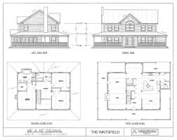 house plan 4 bedroom colonial house plans luxihome colonial
