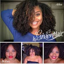 curly hair extensions before and after textured human hair extensions hergivenhair