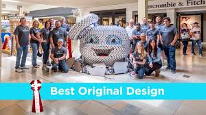 luna middleman canstruction competition youtube