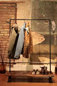 Galvanized Pipe Clothes Rack 56 Best Clothing Racks Images On Pinterest Clothing Racks Pipe