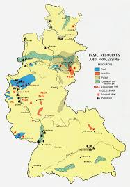 Resource Map Germany Maps Perrycastañeda Map Collection Ut Library Online