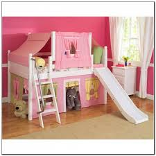 beds for girls with slide